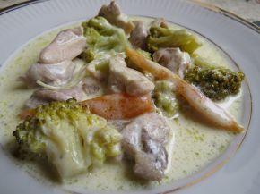 Снимка 5 от рецепта за Сметанова манджичка с пиленце