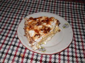 Снимка 3 от рецепта за Сметанова торта с карамелизирани орехи