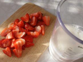 Снимка 4 от рецепта за Смути с ягоди
