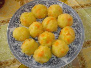Снимка 2 от рецепта за Снежни картофени топки