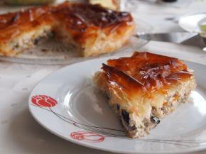 Снимка 9 от рецепта за Солен пай