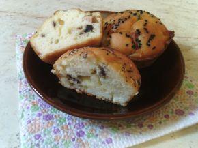 Снимка 6 от рецепта за Солени мъфини с кренвирш