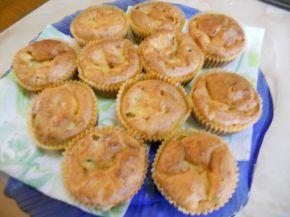 Снимка 2 от рецепта за Солени мъфини с шунка и кисели краставички