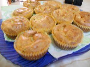 Снимка 3 от рецепта за Солени мъфини с шунка и кисели краставички