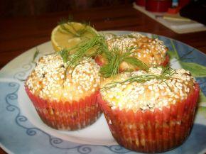 Снимка 2 от рецепта за Солени мъфини със сирене, маслини и копър