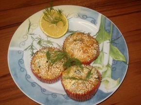 Снимка 3 от рецепта за Солени мъфини със сирене, маслини и копър