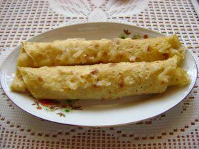 Снимка 2 от рецепта за Солени палачинки
