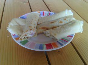 Снимка 3 от рецепта за Солени палачинки