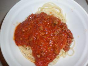 Снимка 2 от рецепта за Спагети по гръцки