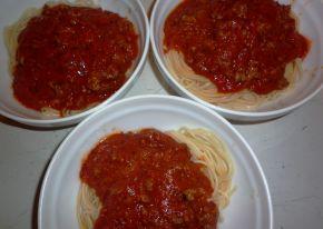Снимка 4 от рецепта за Спагети по гръцки