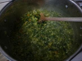Снимка 2 от рецепта за Спаначена мусака