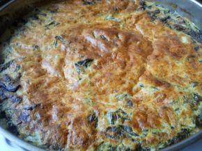 Снимка 2 от рецепта за Спанак с булгур на фурна