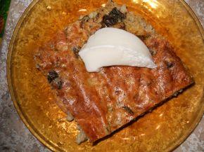 Снимка 3 от рецепта за Спанак с булгур на фурна