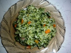 Снимка 2 от рецепта за Спанак с ориз