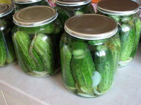 Снимка 1 от рецепта за Кисели краставички