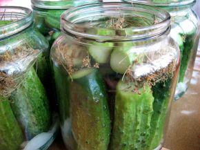Снимка 2 от рецепта за Кисели краставички