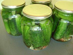 Снимка 4 от рецепта за Кисели краставички
