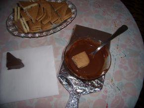 Снимка 3 от рецепта за Сухи пасти с бисквити