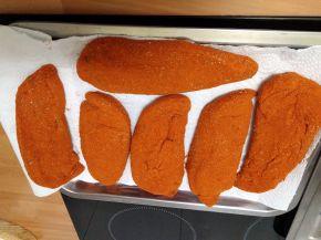 Снимка 4 от рецепта за Сухо пуешко филе за мезе