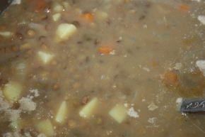 Снимка 3 от рецепта за Супа от леща - II вариант