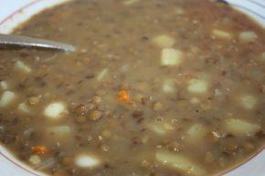 Снимка 4 от рецепта за Супа от леща - II вариант