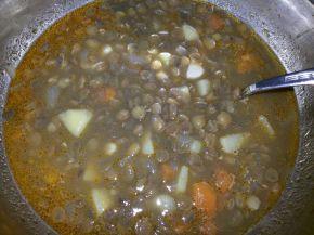 Снимка 7 от рецепта за Супа от леща - II вариант