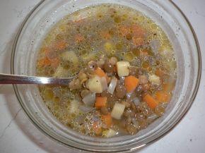Снимка 3 от рецепта за Супа от леща