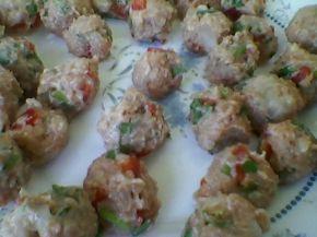 Снимка 3 от рецепта за Супа с шарени кюфтенца и зеленчуци