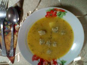 Снимка 10 от рецепта за Супа топчета с картофи