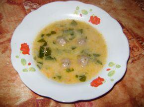 Снимка 2 от рецепта за Супа топчета с картофи
