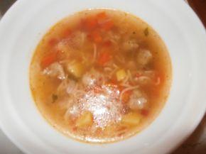 Снимка 6 от рецепта за Супа топчета с картофи