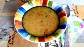 Снимка 3 от рецепта за Супа топчета с рязана туршия