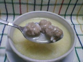 Снимка 2 от рецепта за Супа топчета