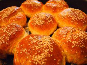 Снимка 2 от рецепта за Сусамови хлебчета