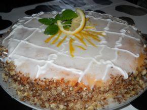 Снимка 2 от рецепта за Свежа лимонова торта