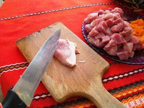 Снимка 2 от рецепта за Свинска яхния със зеленчуци