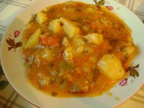 Снимка 9 от рецепта за Свинска яхния със зеленчуци