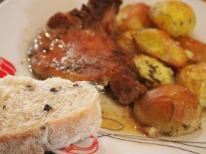 Снимка 4 от рецепта за Свински котлети с картофи