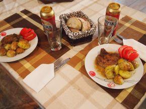 Снимка 5 от рецепта за Свински котлети с картофи