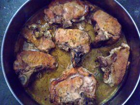 Снимка 2 от рецепта за Свински котлети с мед
