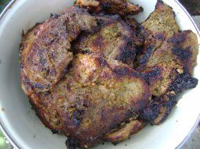 Снимка 4 от рецепта за Свински пържоли