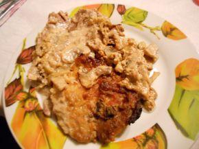 Снимка 3 от рецепта за Свински пържоли в гювеч