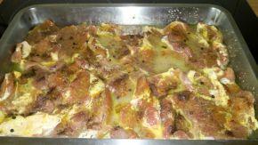 Снимка 2 от рецепта за Свински вратни пържоли на фурна
