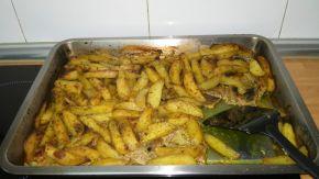 Снимка 4 от рецепта за Свински вратни пържоли на фурна
