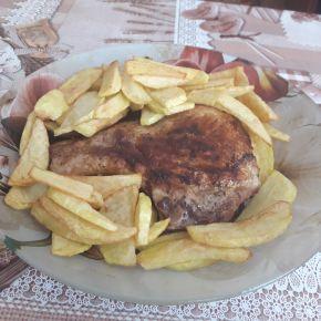 Снимка 7 от рецепта за Свински вратни пържоли на фурна