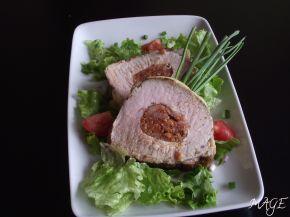 Снимка 2 от рецепта за Свинско контра филе с кашкавалена коричка