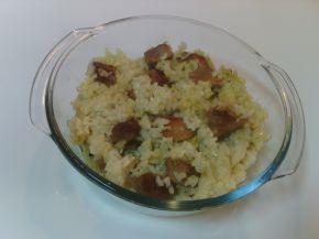Снимка 2 от рецепта за Свинско месо с ориз и моркови на фурна