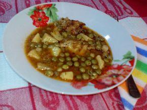 Снимка 2 от рецепта за Свинско с грах
