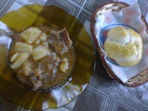 Снимка 3 от рецепта за Свинско с картофи