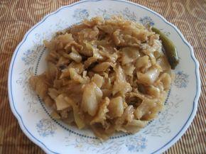 Снимка 2 от рецепта за Свинско с кисело зеле на фурна